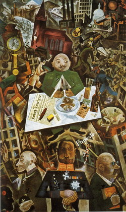 George Grosz. Germany: A Winter's Tale.