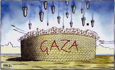 Bombing Gaza