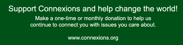 Support Connexions and help save the world
