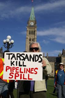 Tar Sands Kill Pipelines Spill