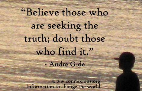 Gide: seeking the truth