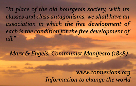 Marx & Engels: Free development of each