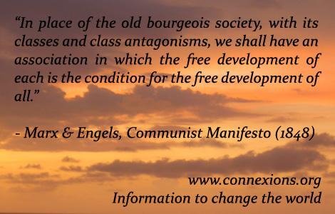 Marx & Engels: free development of all