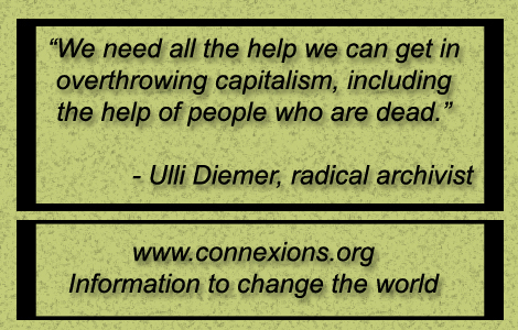 Ulli Diemer We need all the help we can get in overthrowing capitalism including the help of people who are dead