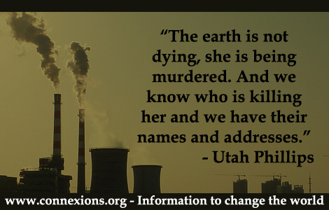 Phillips: Murdering the earth
