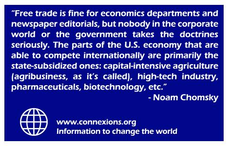 Chomsky: Free Trade