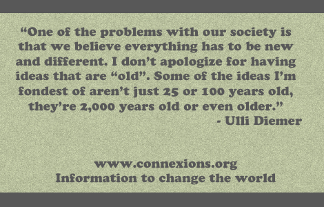 Ulli Diemer I don't apologize for having ideas that are old