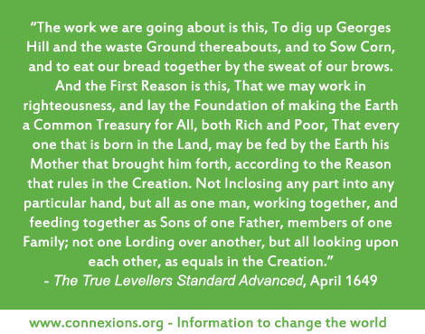 The earth a common treasury for all