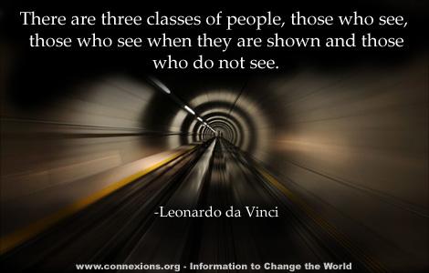 Da Vinci: Three classes of people