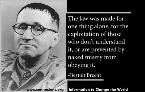 Connexions Quotations Bertolt Brecht