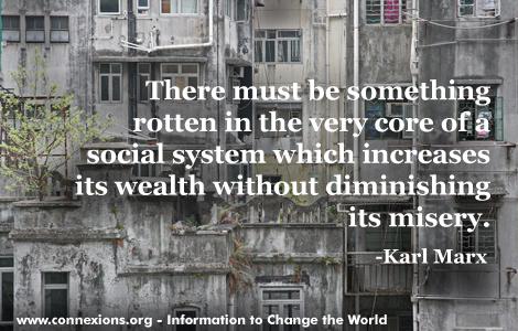 Marx: rotten system