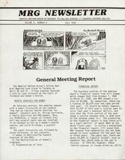 Medical Reform Newsletter July 1985