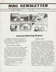 Medical Reform Newsletter July 1985