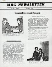 Medical Reform Newsletter December 1985