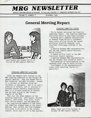 Medical Reform Newsletter December 1985