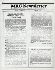 Medical Reform Newsletter February 1987