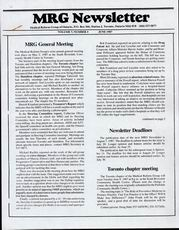 Medical Reform Newsletter June 1987