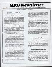Medical Reform Newsletter June 1987