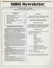 Medical Reform Newsletter April 1988