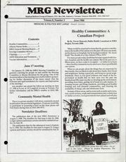 Medical Reform Newsletter June 1988