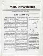 Medical Reform Newsletter October 1988