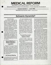 Medical Reform Newsletter June 1989