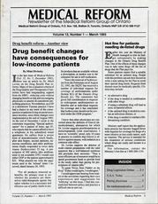 Medical Reform Newsletter March 1993