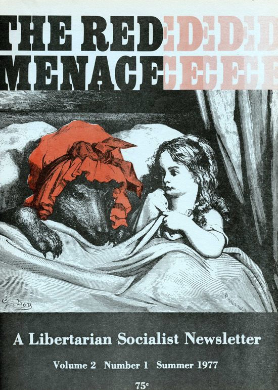 The Red Menace, Volume 2, Number 1, Summer 1977