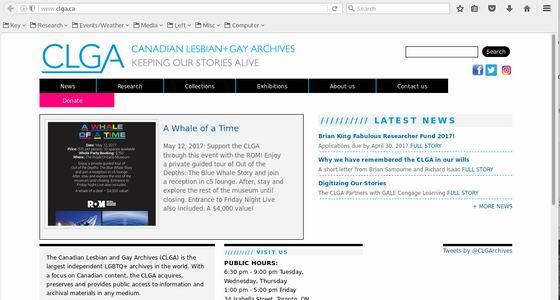 Canadian lesbian websites