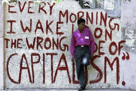 Wrong side of capitalism